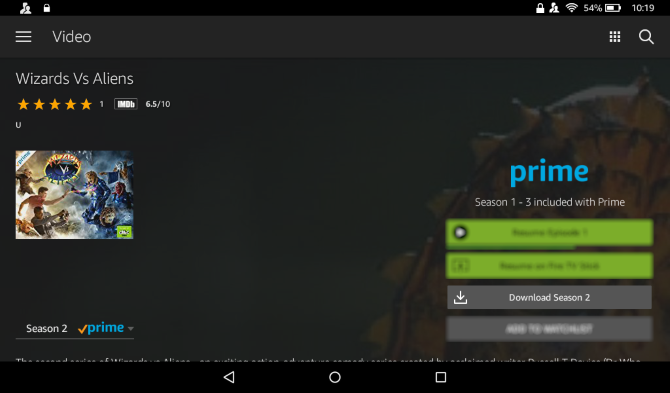 Cómo descargar video Prime en la tableta Amazon Fire